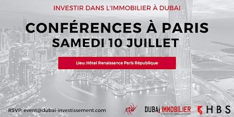 Investir dans l'immobilier à Dubai - Conférences et rendez-vous privés billets