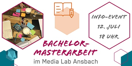 Info-Event  Abschlussarbeiten im Media Lab Ansbach Tickets
