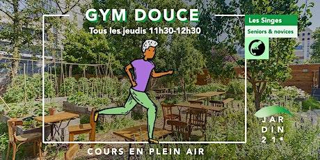 Les Singes, Cours de Gym douce/ Seniors & Novices Tous les Jeudis billets