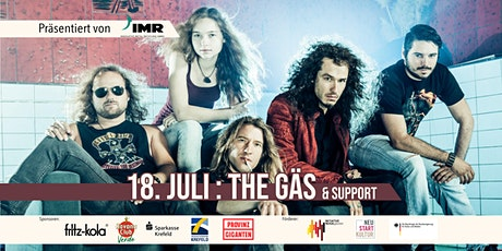 The Gäs & Support - Open Air tickets