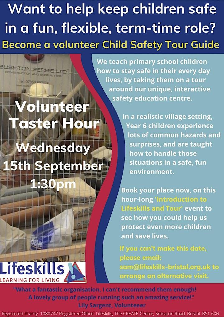 Lifeskills Volunteer Taster Hour image