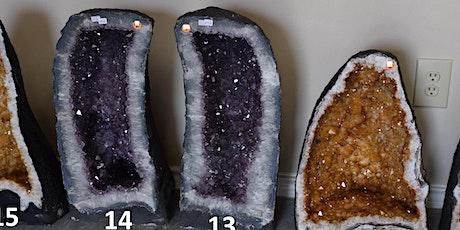 Huge Gem Amethyst Rock Fossil Sale July 2,3 tickets