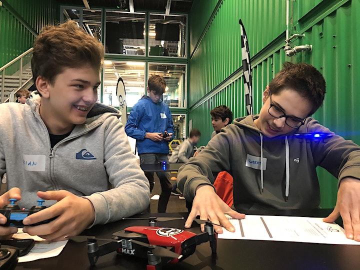 Einstieg in die Welt der Drohnen mit Coding und Drone Racing - Freiplätze!: Bild