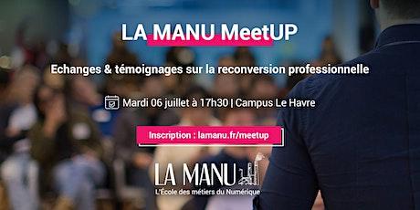 Meetup : Reconversion professionnelle billets