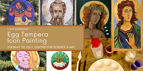 Egg Tempera Contemporary Icon Painting Workshop tickets