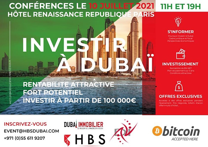 Image pour Investir dans l'immobilier à Dubai - Conférences et rendez-vous privés