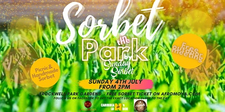 Sorbet  in the park  by Sunday Sorbet tickets