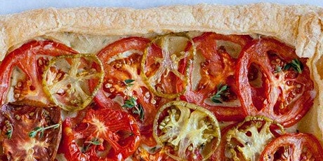 UBS - Virtual Cooking Class:Cherry tomato, Garlic and Herb Tart-Plant Based tickets