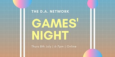 Virtual Games' Night tickets