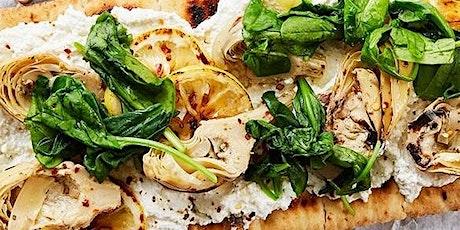 UBS - Virtual Cooking Class: Grilled Flatbread w. Artichoke + Lemon Ricotta tickets