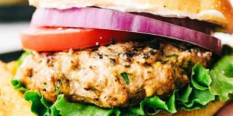 """UBS - Virtual Cooking Class: """"Juicy Lucy"""" Turkey Burger w. Air Fryer Fries tickets"""