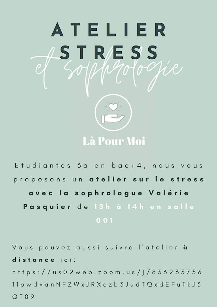 Image pour Atelier gestion du stress & sophrologie