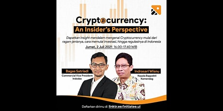 Cryptocurrency: An Insider's Perspective tickets