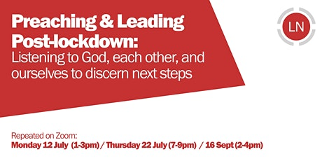 Preaching & Leading Post Lockdown tickets