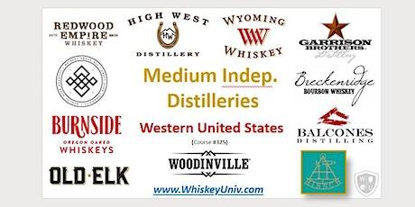 Medium Independent Distilleries, Western US States (Course #255) tickets