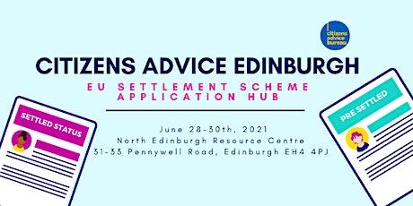 EU Settlement Scheme Application Hub tickets
