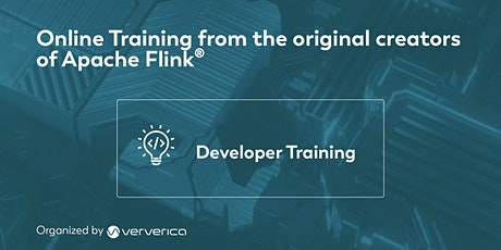 Apache Flink Developer Training - November 2021 Tickets
