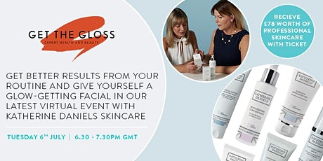 Sign up for our 'Better skin for life' masterclass and get £78 goodie bag! tickets