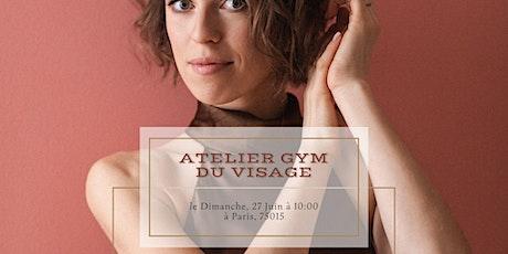Atelier Gym / Yoga du visage - en présentiel - à Paris 15 billets