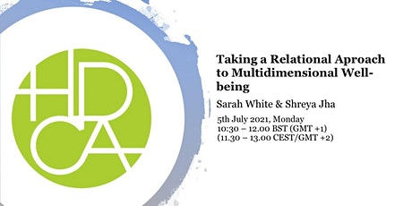 Taking a relational approach to multidimensional wellbeing tickets