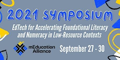 2021 mEducation Alliance Symposium tickets