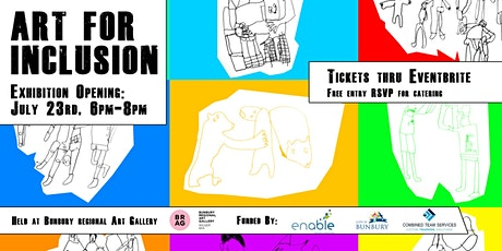 Art for inclusion tickets