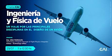 #CharlasCAI Ingeniería y Física de Vuelo boletos