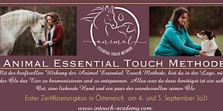 Animal Essential Touch Methode - Zertifizierungskurs Tickets