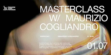Masterclass con Maurizio Cogliandro biglietti