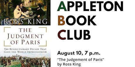 "Appleton Book Club: ""Judgment of Paris"" tickets"