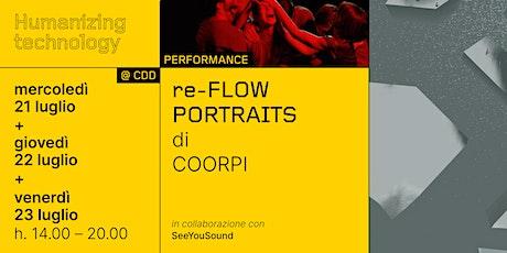 COORPI re-FLOW PORTRAITS tickets