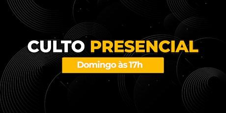 Culto Presencial DOMINGO À NOITE - Bola de Neve Campinas ingressos