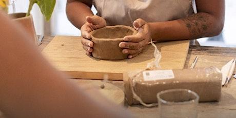 Clay Hand-building Workshop @ Studio 50 tickets