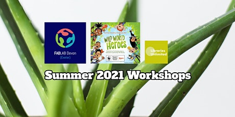 Inside FABLAB Exeter Nature Inspired T-shirt Workshop (8-15yrs) tickets