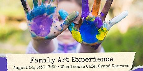 Family Art Experience - Grand Narrows tickets