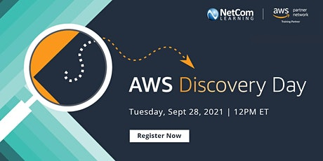Webinar - Live Event - AWS Discovery Day tickets