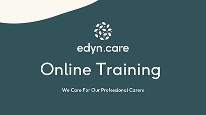 17th-18th of August online carer induction tickets