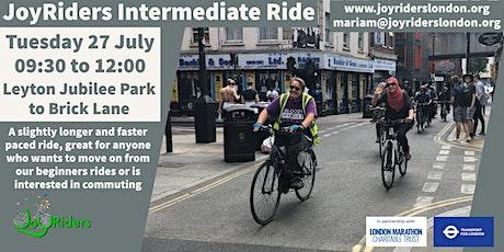 Intermediate Ride: Leyton Jubilee Park to Brick Lane tickets
