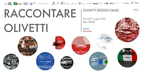 Raccontare Olivetti biglietti