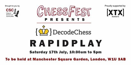 ChessFest Decode Rapidplay tickets