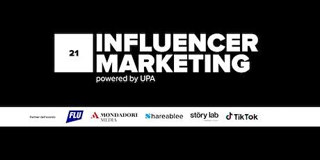 Influencer Marketing 2021 biglietti