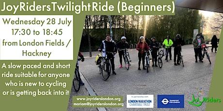 Twilight Ride (Beginners) from London Fields Hackney tickets