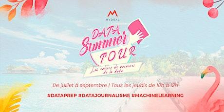 Data Summer Tour 2021  :  les cahiers de vacances de la Data (Virtuel) tickets