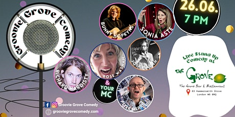 Groovie Grove Comedy SPECIAL PRO NIGHT tickets