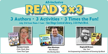 All-Inclusive READ 3X3 Literacy Event – San Diego County tickets