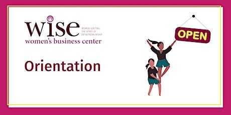 WISE Orientation tickets