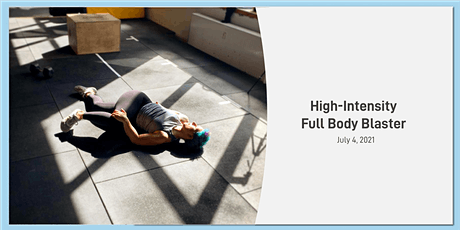 High-Intensity Full Body Blaster billets