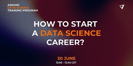 """Workshop: """"How To Start a Data Science Career?"""" tickets"""
