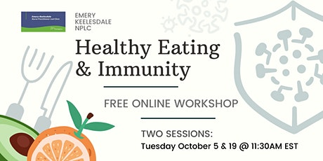 Workshop: Healthy Eating and Immunity tickets