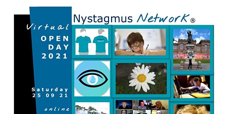 Nystagmus Network virtual Open Day 2021 tickets